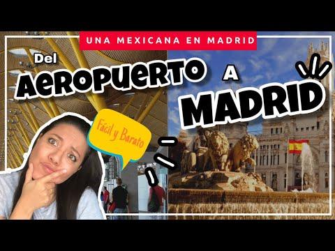 Como Llegar A Madrid Desde El Aeropuerto T1, T2, T3, Y T4 Fácil Y Barato | Diana Una Mexicana En Ma