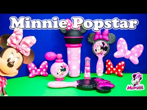 Unboxing the Minnie Mouse Popstar Minnie Beauty Set
