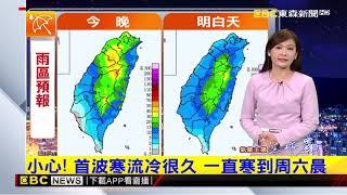 氣象時間 1070108 晚間氣象 東森新聞