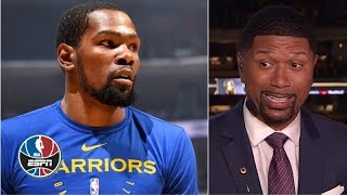Kevin Durant's latest workout 'didn't go well on any level' - Jalen Rose | NBA Countdown