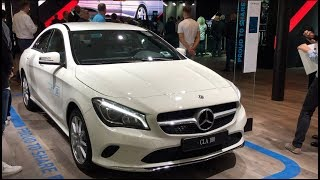Mercedes-Benz CLA 180 Car2Go 2017 In detail review walkaround Interior Exterior