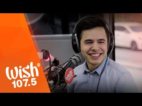 "David Archuleta performs ""Up All Night"" LIVE on Wish 107.5 Bus"