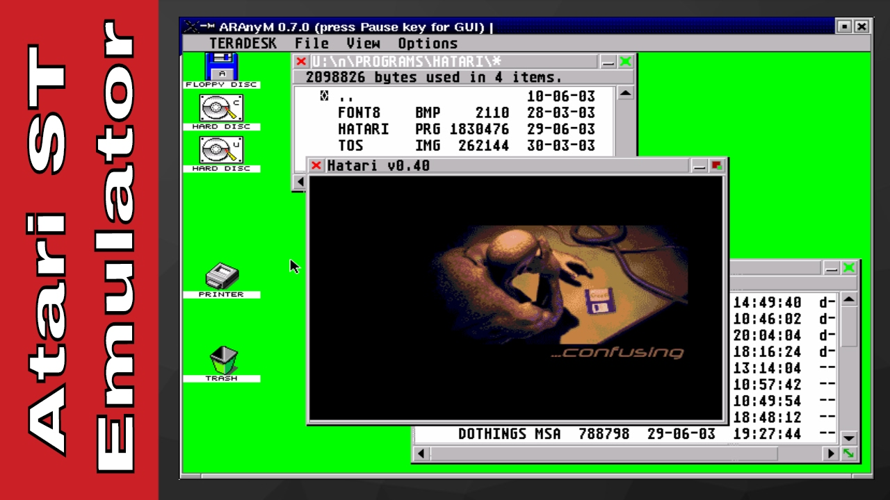 How to Play Atari ST Games on PC