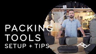 Peak Design Travel Packing Tools: Setup + Tips