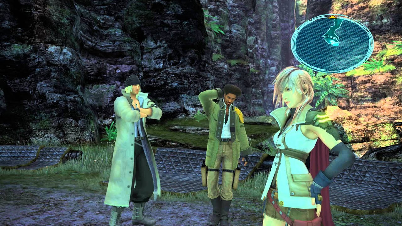 Final Fantasy XIII PC Test Graphic Mod 60 FPS FULL HD