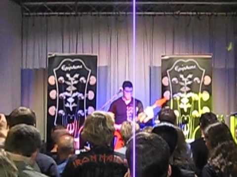 Jeff Waters Guitar Clinic 2012 - Hamburg