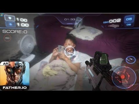 Father.io Tiro Em Primeira Pessoa Da Vida Real Android Gameplay.