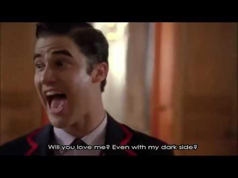 Glee - Dark Side (Full Performance with Lyrics)