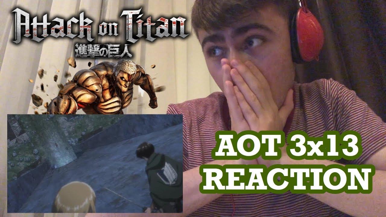 Attack On Titan Season 3 Episode 13 Reaction - The Town ...