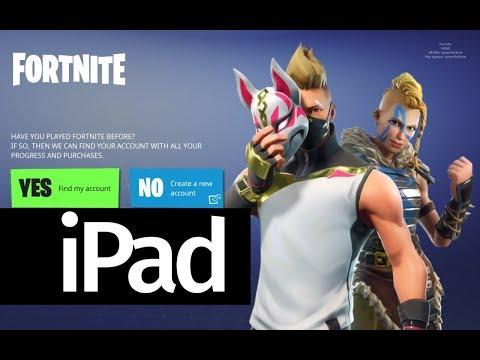 How To Download Fortnite Battle Royale App FREE - IPad Mini 4 IPad Air 2 IPad 2017 IPad Pro