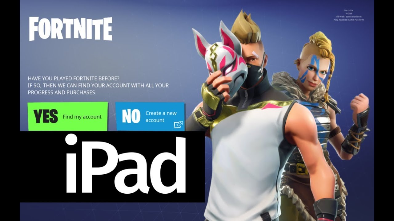 How To Download Fortnite Battle Royale App Free Ipad Mini 4 Ipad