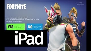 How to Download Fortnite Battle Royale app FREE - iPad Mini 4 iPad Air 2 iPad 2017 iPad Pro