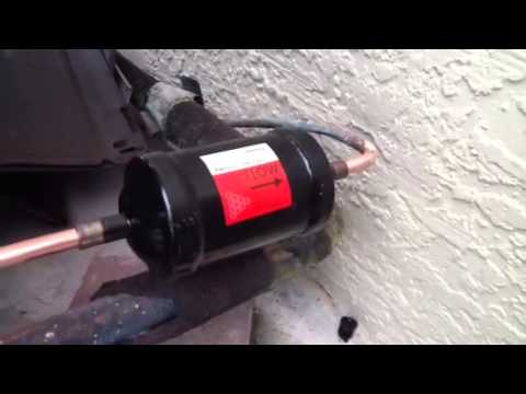 How To Prepare For The Installation Of A Filter Drier