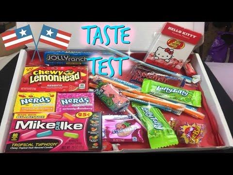 Brits Taste American Candy! Taste Test | Marina Petrou