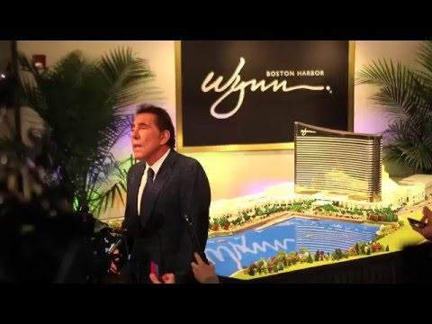 Steve Wynn speaks about Wynn Boston harbor casino