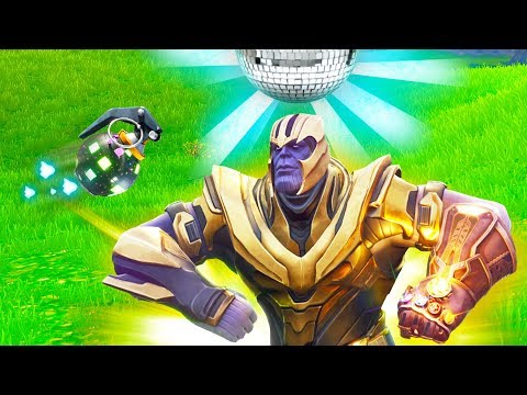YOU CAN BOOGIE BOMB THANOS! (Fortnite Battle Royale)