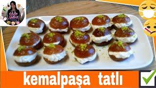 (Tatlı) Kaymaklı Kemal Paşa Tatlısı Tarifi Nasıl yapılır ? Sibelin mutfağı ile yemek tarifleri