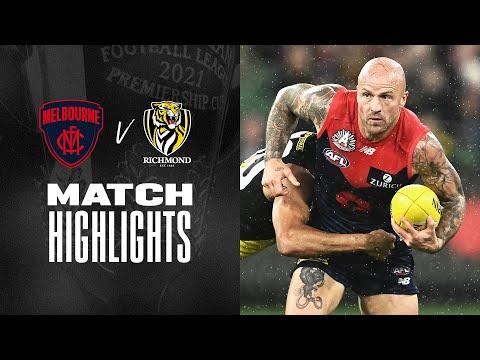 Anzac Day eve | Melbourne v Richmond Highlights | Round 6, 2021 | AFL