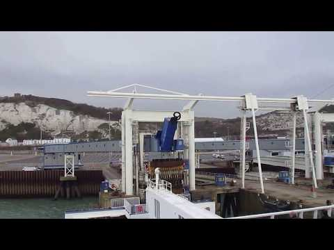 Onboard P&O Ferries Spirit of Britain Leaving the Berth at Dover