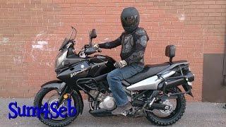 Installing Kenda K784 Big Block Tires on V-Strom 1000  |¦| Sum4Seb Motorcycle Video