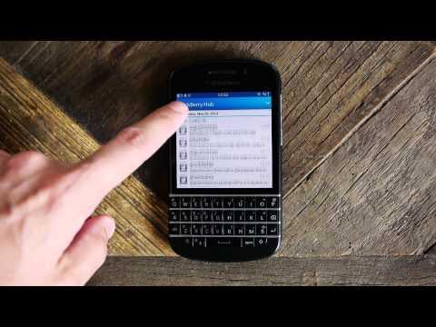 BlackBerry Q10, reseña a fondo