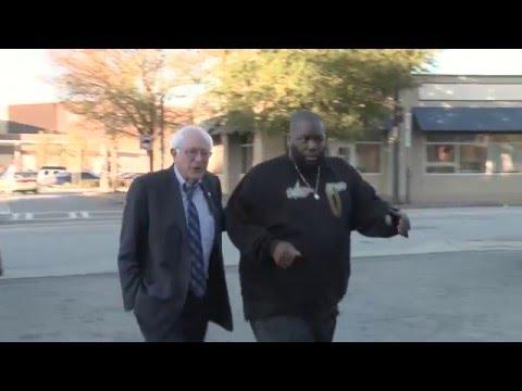 Bernie Sanders and Killer Mike   Behind the Scenes