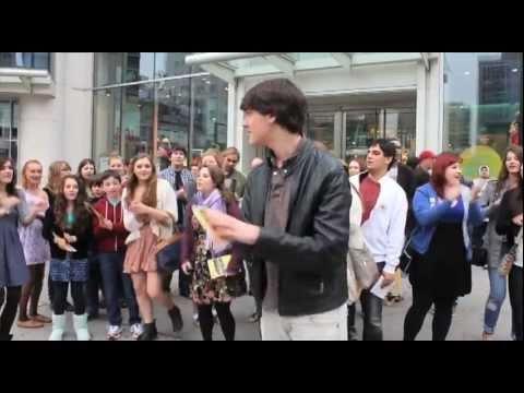 Urinetown the musical, Toronto, Flash mob