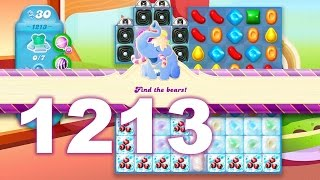 Candy Crush Soda Saga Level 1213 (3 stars, No boosters)