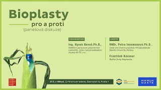 "Diskuze na téma ""bioplasty"" v Minimum Waste 27.3."