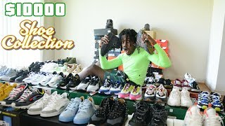MY ENTIRE SHOE COLLECTION 2019 (CRAZY UNRELEASED SNEAKERS!!!)