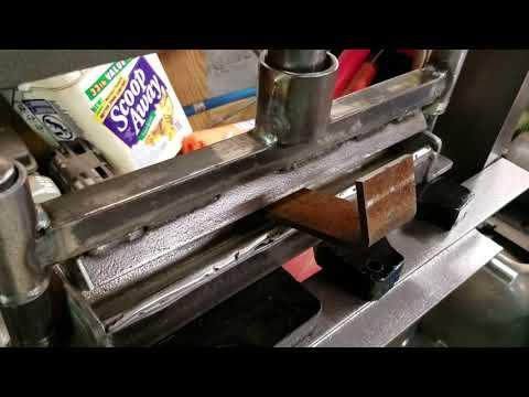 DIY press brake.(2)