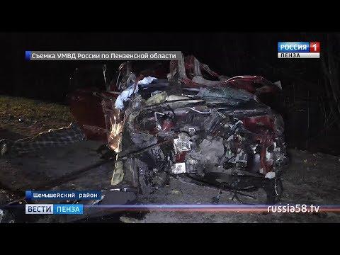 В ДТП в Пензенской области погибла целая семья с двухлетним ребенком