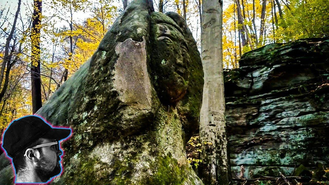 The great stone sphinx of hinckley ohio youtube