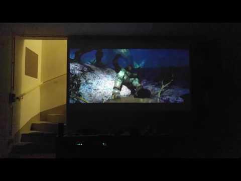 LG PF1000U + Xbox 360