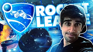 ICE HOCKEY IN CARS!' - ROCKET LEAGUE #19 with Vikkstar