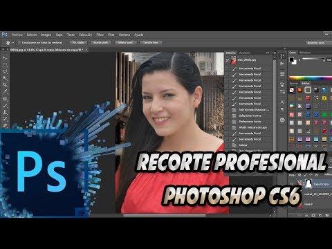 Recorte Perfecto en Adobe Photoshop CS6 - Recorte Profesional Luisito Habla