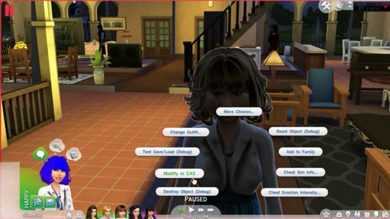 Sims 4 cc hair glitch