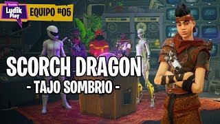 TEAM #05 NINJA SCORCH DRAGON - SMBRIO TAJO - FORTNITE SAVE THE WORLD SPANISH GUIDE