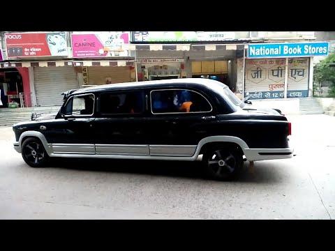 Hindustan Ambassador Converted into Limousine