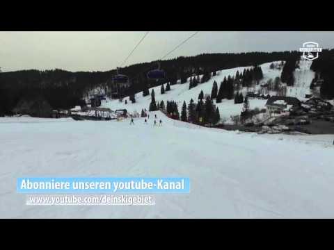 """Piste 5 """"Zeiger"""" im Skigebiet Feldberg/Schwarzwald"""