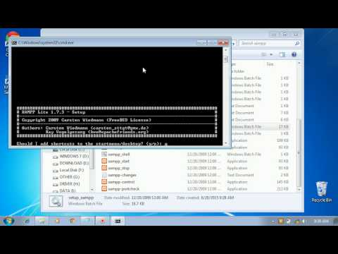 Installasi XAMPP 1 7 3 PORTABLE