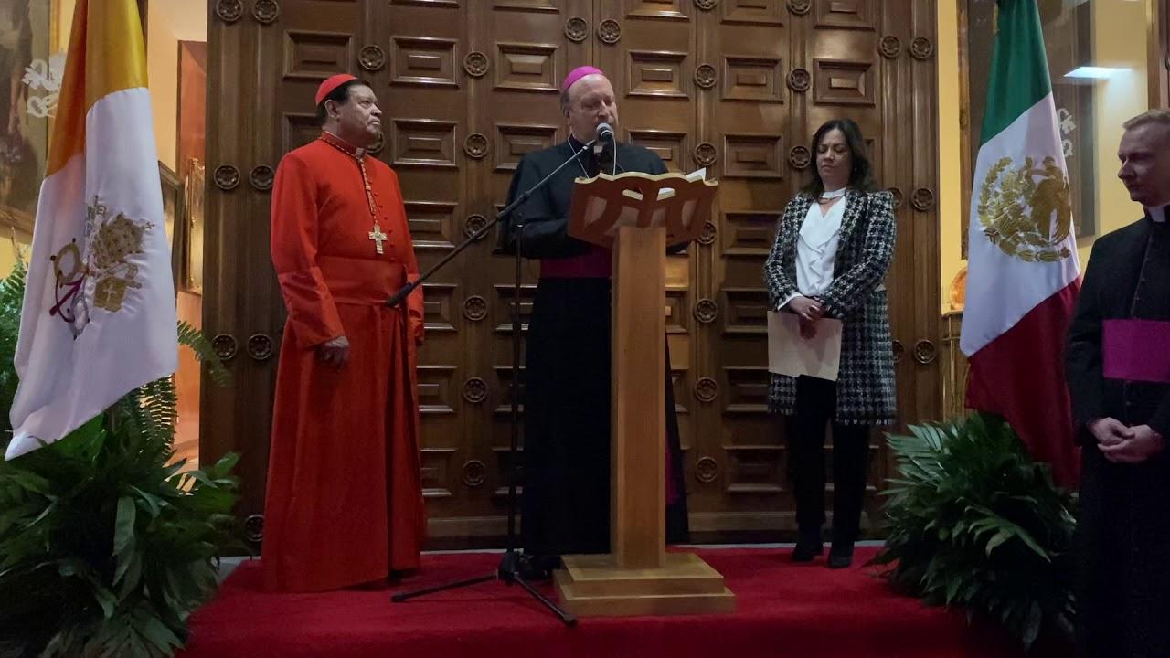 Palabras del Nuncio Mons. Franco Coppola en el 7 aniversario del pontificado del Papa Francisco