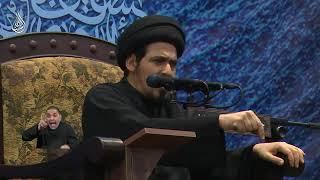 السيد منير الخباز - علامة الإيمان أن تؤثر الصدق حيث يضرك على الكذب حيث ينفعك