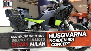 HUSQVARNA 901 NORDEN CONCEPT - Salon de la moto MILAN - EICMA 2019