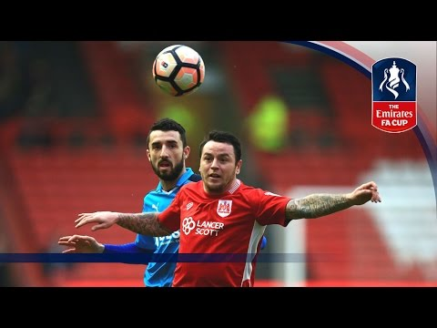 Bristol City 0-0 Fleetwood Town - Emirates FA Cup 2016/17 (R3) | Goals & Highlights