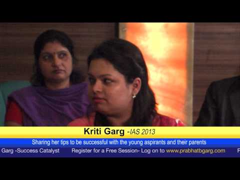 Kriti Garg Sharing Tips