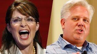 Glenn Beck: Did Sarah Palin Have A Brain Aneurysm?