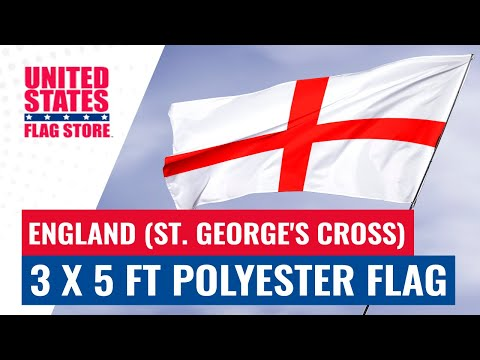 England (St. George's Cross) 3 x 5 ft Polyester Flag