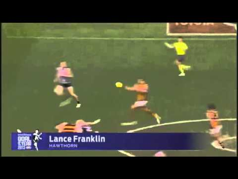 Afl mark and goal of the year finalists 2013