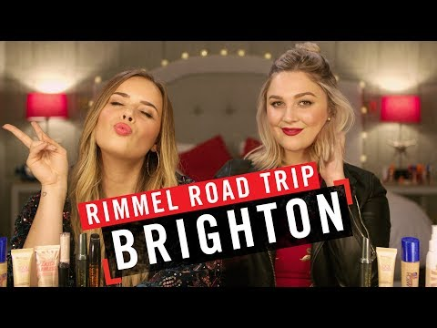 Rimmel Road Trip featuring I Covet Thee & Hello October in Brighton | #LiveTheLondonLook